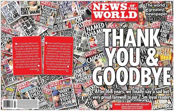 Final News Of the World