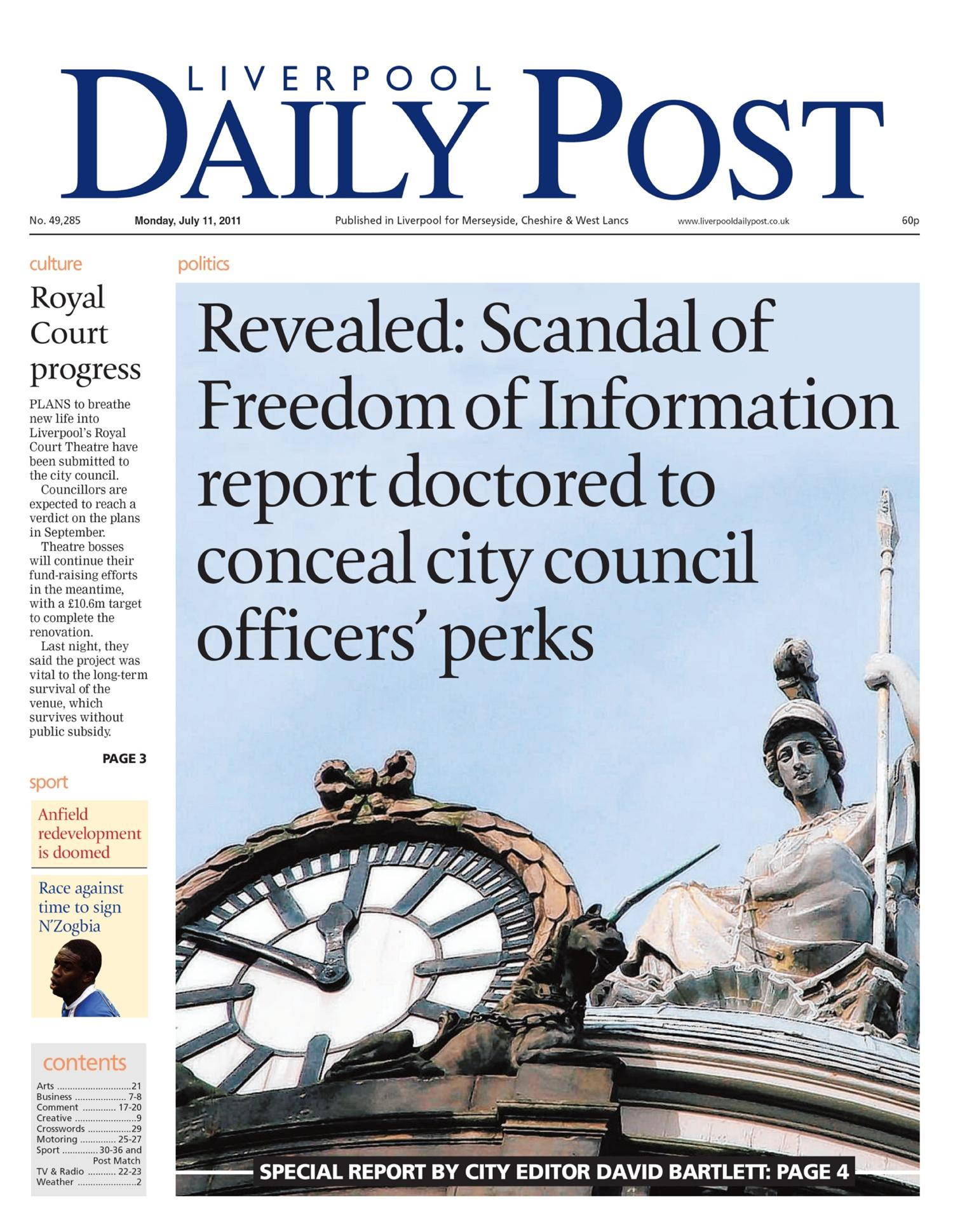 The Council Which Investigated Why An Foi Information Was Doctored But Didn T Tell The