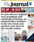 Newcastle Journal front page