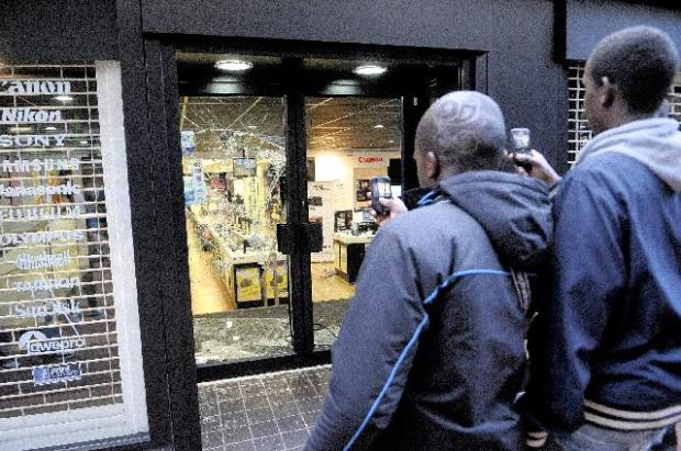 Caught on camera ... the Birmingham Riots