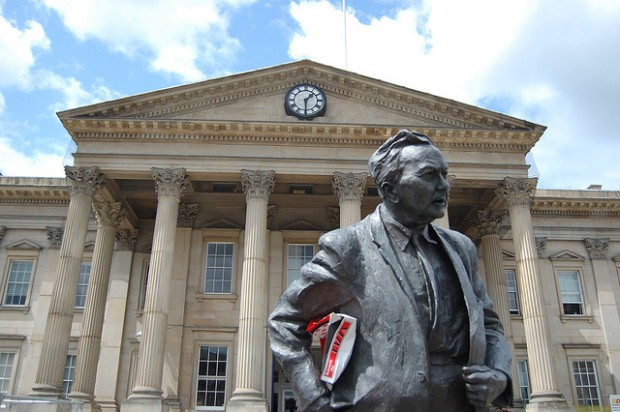 Harold Wilson came from Huddersfield. I'm not he had pizza to go