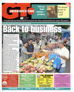 Greenwich Time newspaper
