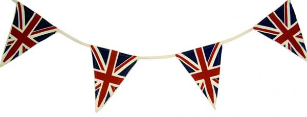 Get out the bunting - but if you're in Oxford, please do it discreetly... the council won't tell!