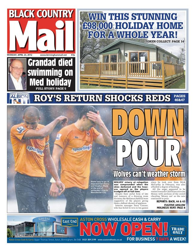 The Black Country edition of the Birmingham Mail