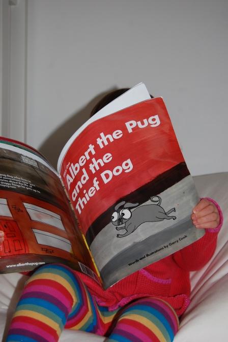 Albert the Pug by Garry Cook