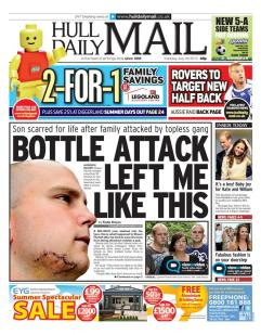 Front page news in Hull
