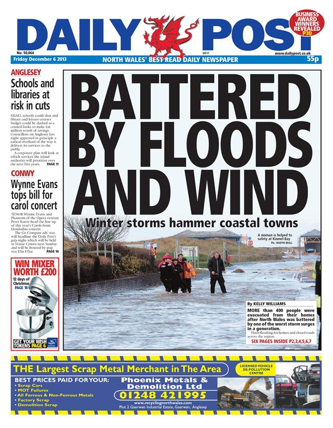 daily post floods west