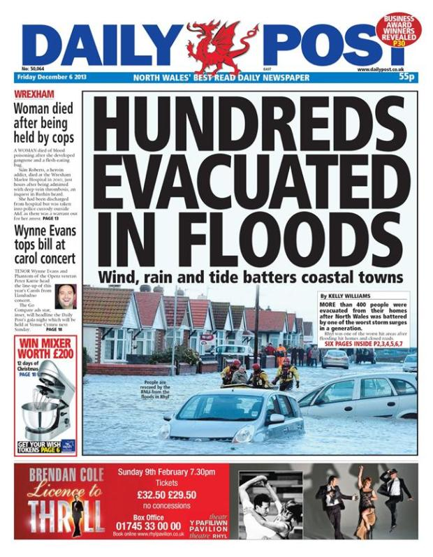 daily post floods