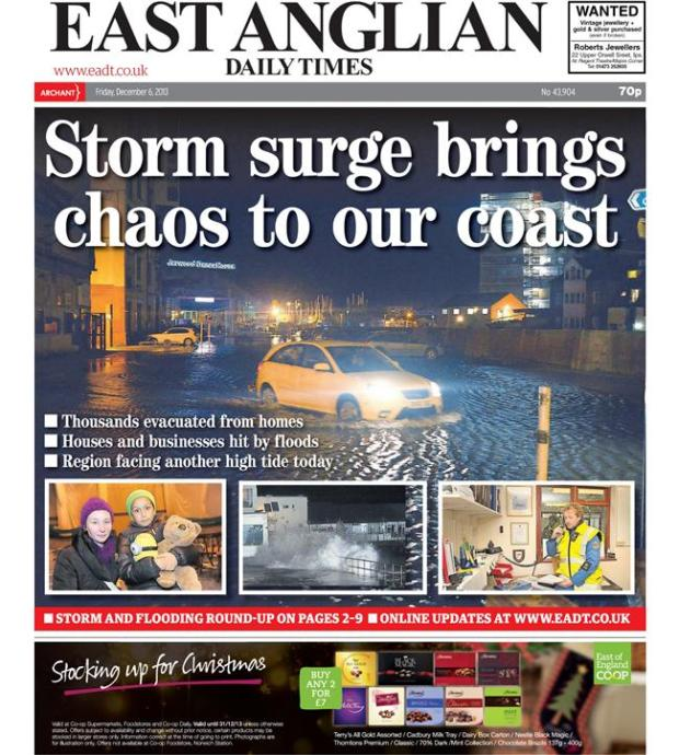 eastanglian daily times floods