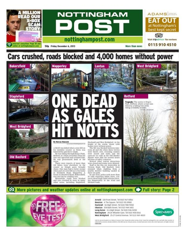 nottinghampost storms