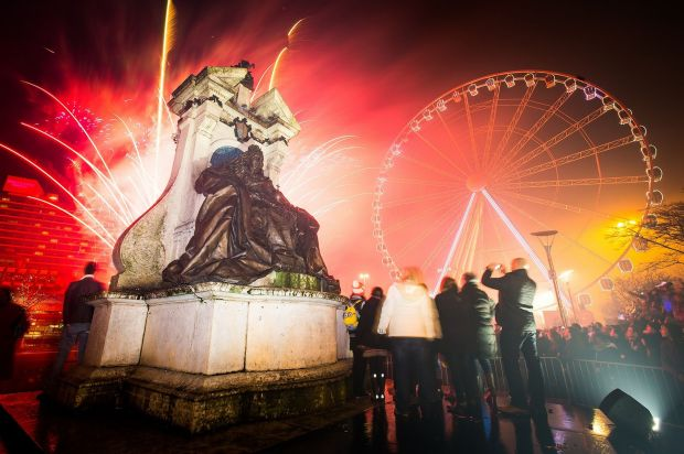 In Manchester, the council boasted the fireworks would rival Sydney and London