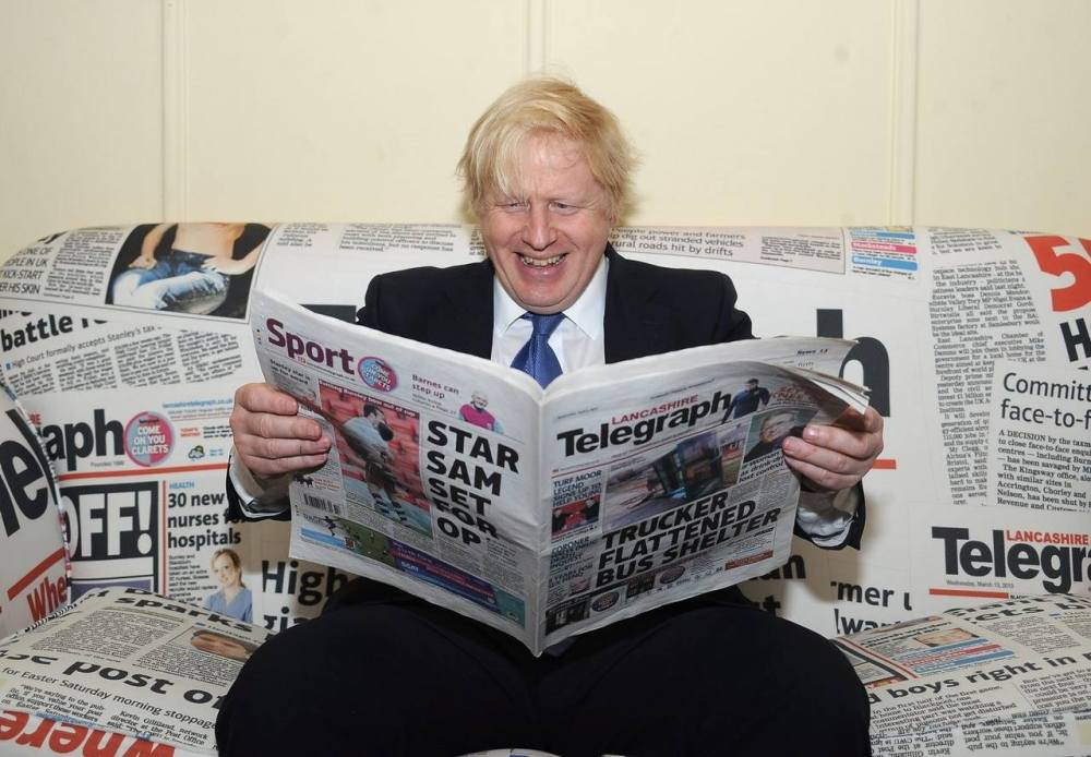 Boris Johnson in Blackburn
