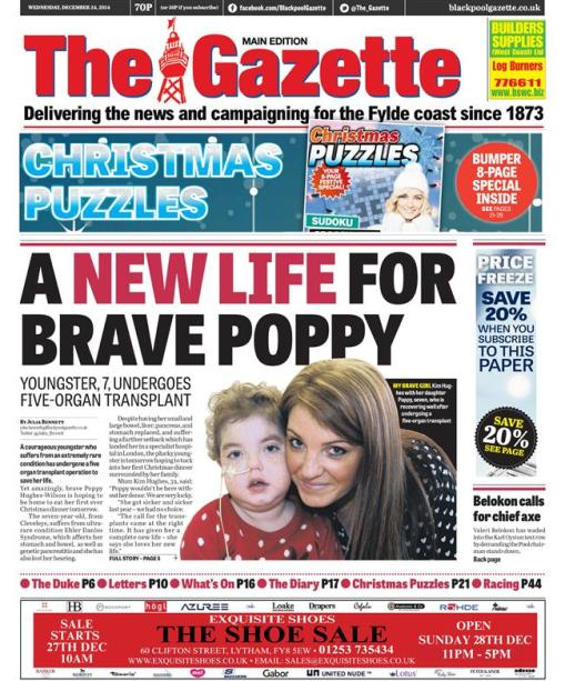 blackpool gazette