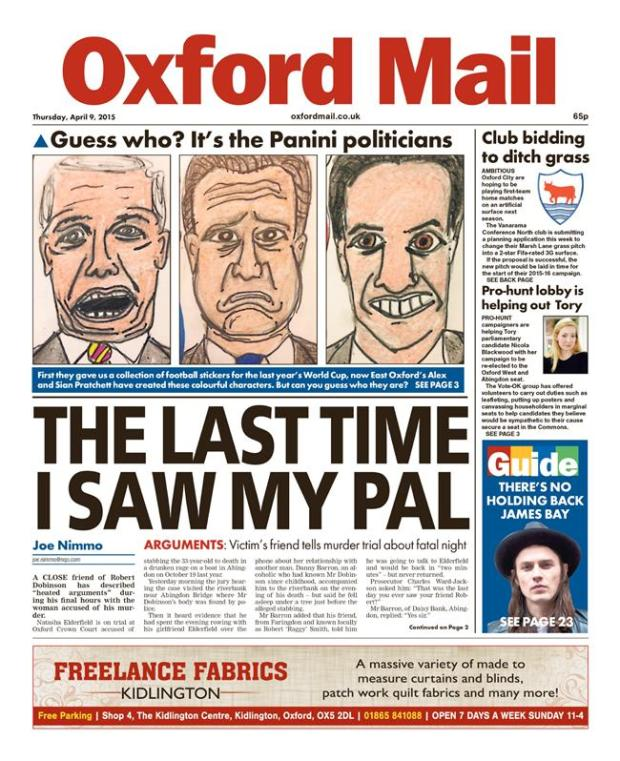 oxford mail scary