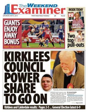 election huddersfield