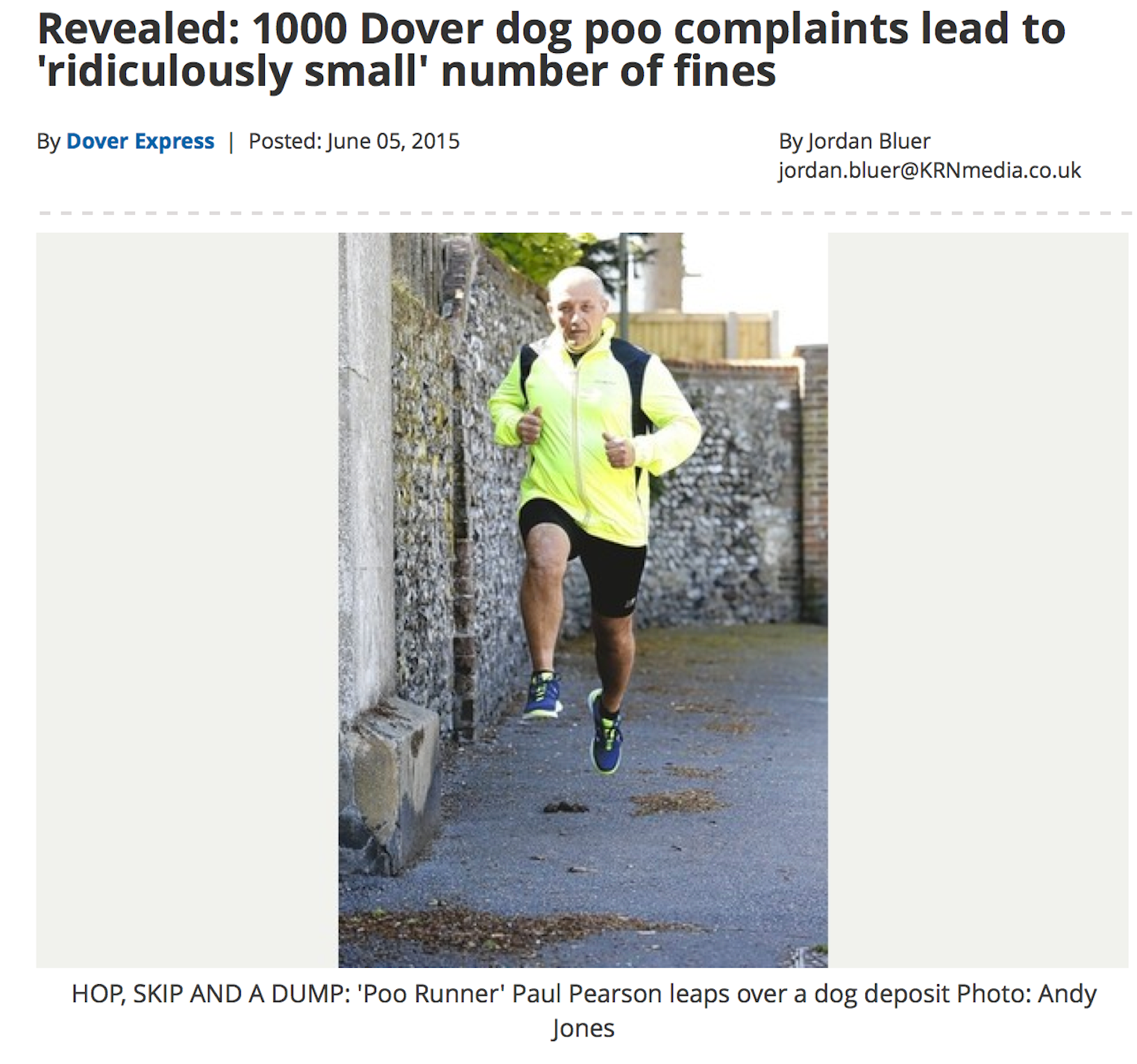 Covering stories about dog poo in a new way… – David Higgerson