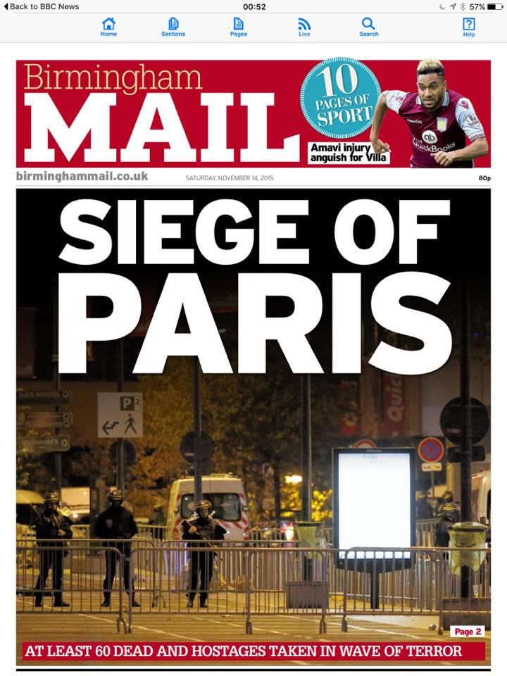 paris mail