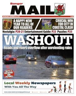 floods wed bangor
