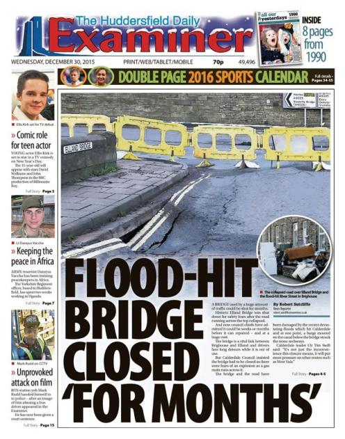floods weds examiner