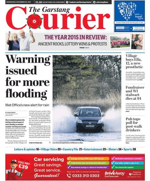 floods weds garstang