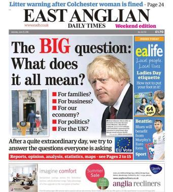 Brexit EADT