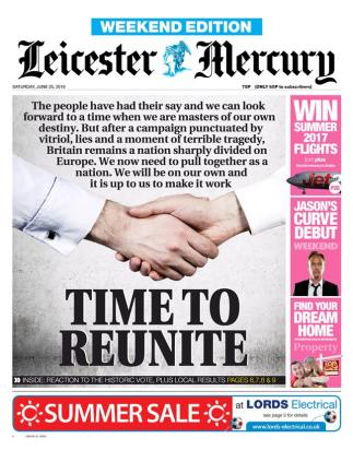 brexit leicester