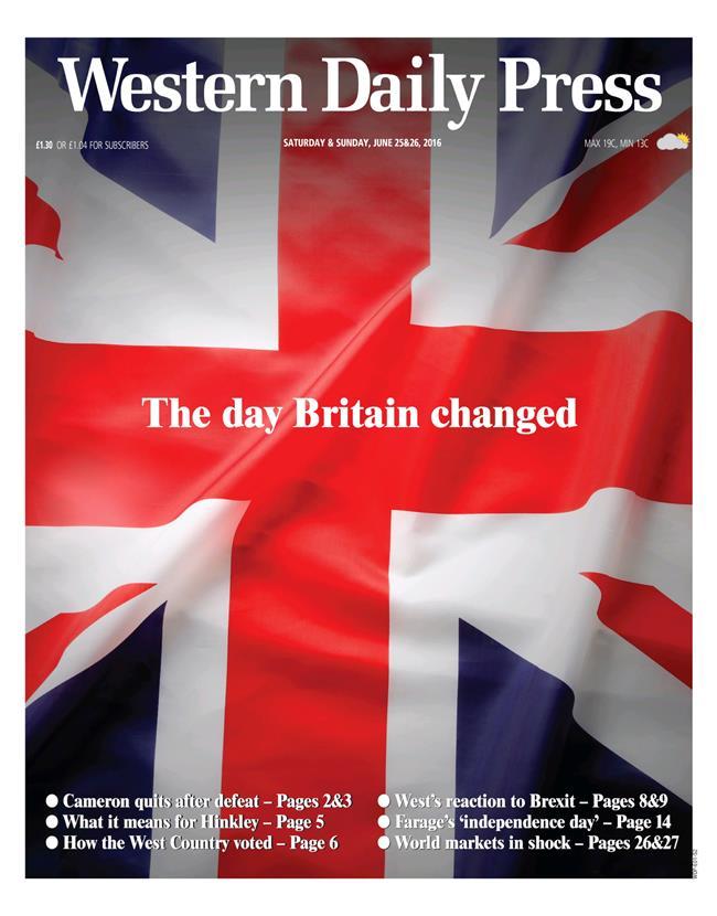 brexit wdp