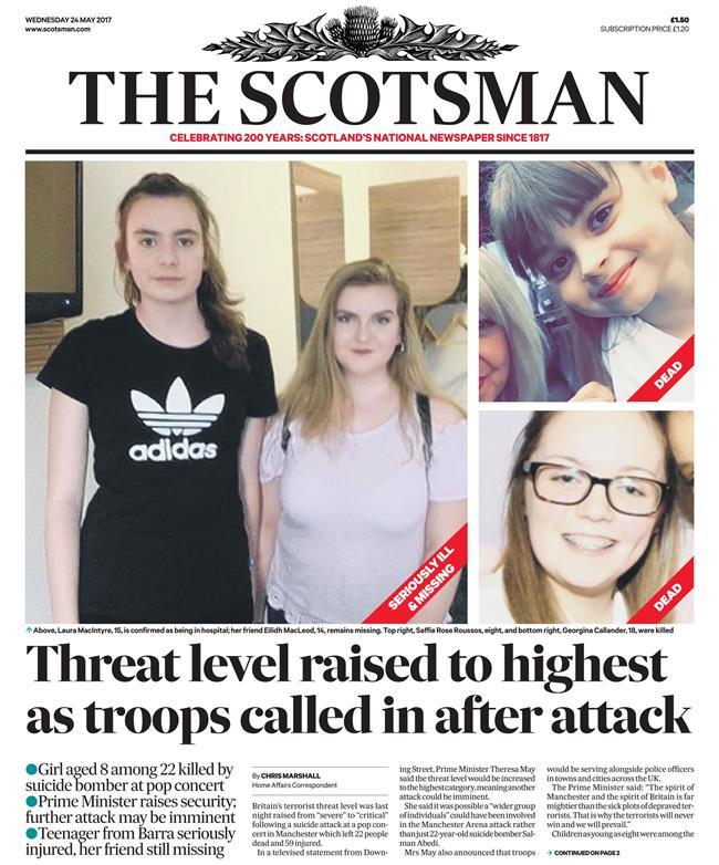 terror m scotsman