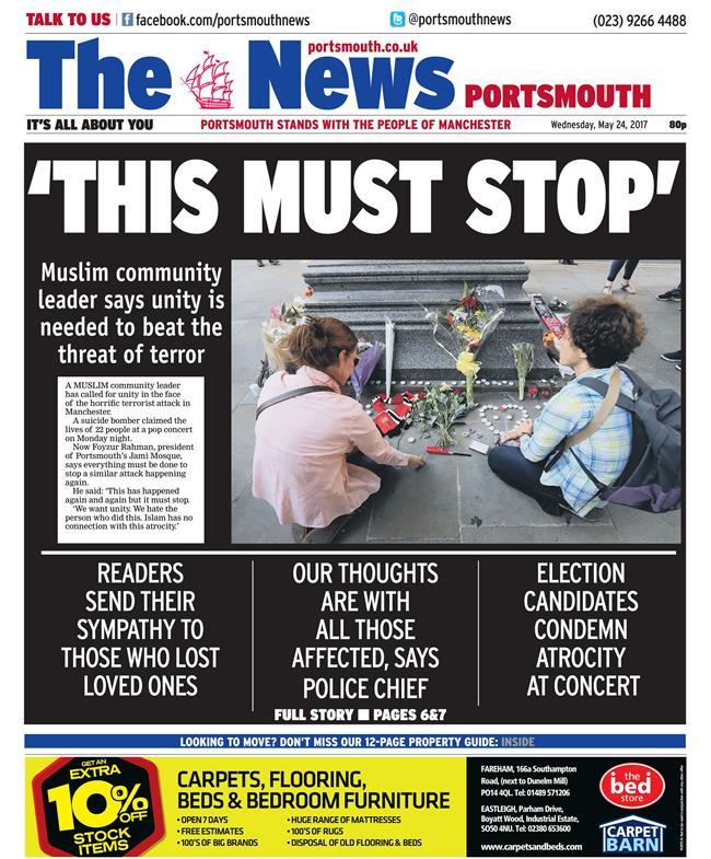 terrorm portsmouth